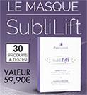 test d'un masque Phyderma