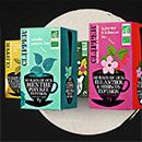 échantillons Clipper Tea