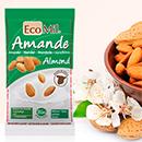 échantillon gratuit de lait d'amande en poudre bio EcoMil