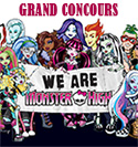 Concours Monster High