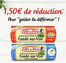 coupon de réduction Elle & Vire