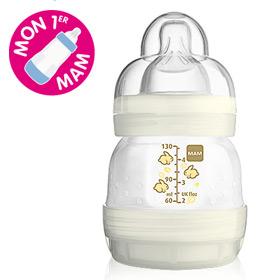 Bon plan bébé : Biberon MAM anti-colique gratuit !