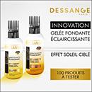 échantillon test Dessange