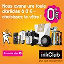 inkClub produits gratuits