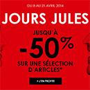Soldes Jules