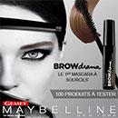 échantillon test de Mascara à Sourcils Gemey-Maybelline