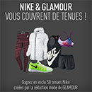 Concours Glamour et Nike