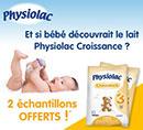 échantillons gratuits de lait pour bébé