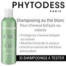échantillon test de shampooing