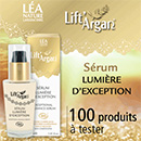échantillon test Lift'Argan