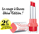bon plan rouge à lèvres Bourjois