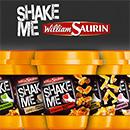Concours Shake Me de William Saurin