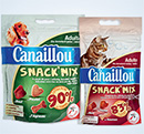 échantillons tests de gourmandises Canaillou