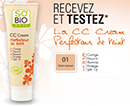 échantillon test So'Bio étic