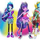 poupées Equestria Girls