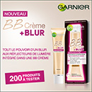 échantillon test Garnier
