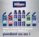 Concours Mavieencouleurs et Williams