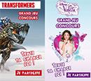 Concours Chaussea, Transformers et Violetta