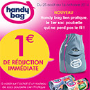 Coupon de réduction Handy Bag