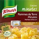 échantillon test de papillote Knorr
