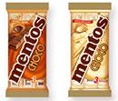 échantillons tests de Mentos Choco