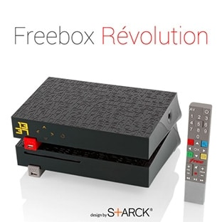 vente priv e free freebox r volution tv by canal mois. Black Bedroom Furniture Sets. Home Design Ideas