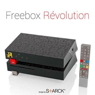 Vente Privée Free : Freebox Révolution TV Canal à 9.99€ / mois