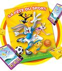 Auchan : Fête du Sport avec Looney Tunes