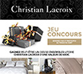 50 ensembles literie christian lacroix gagner. Black Bedroom Furniture Sets. Home Design Ideas