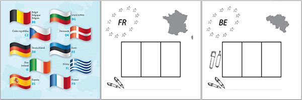 """livret de coloriage """"Je colorie l'Europe"""" gratuit"""