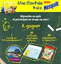 Concours Nesquick gratuit