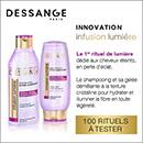 échantillon test Dessange Paris