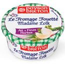 échantillons tests de Fromages Fouettés Madame Loïk