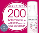 échantillon test Bioderma
