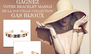23 bracelets Massaï de la maison Gas Bijoux gratuits à gagner