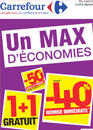 bons plans promotions Carrefour