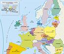 carte gratuite de l'Europe