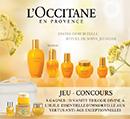 Concours Le Journal des Femmes et L'Occitane en Provence