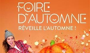 Invitations gratuites pour la Foire d'Automne 2016