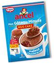 sachets Mon Gâteau Minute Ancel gratuits