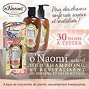 échantillon test O'Naomi Natural