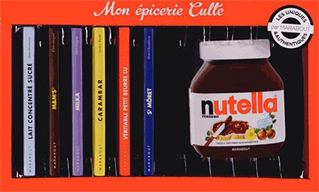 Mon épicerie culte des éditions Marabout