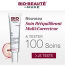 échantillon test de soin Bio Beauté by Nuxe
