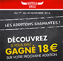 Instants Gagnants Buffalo Grill