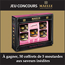 Concours Marie France et Maille