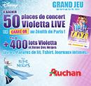 Concours Auchan et Disney