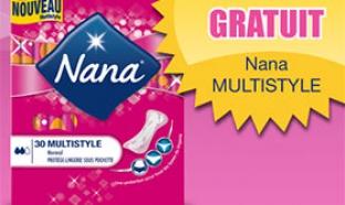échantillons gratuits NANA