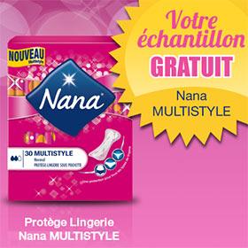 Echantillons de protège-lingerie Nana Multistyle