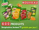 échantillons gratuits Knorr