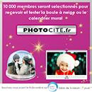 cadeau personnalisé Photocité gratuit